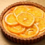 オレンジスライスチーズケーキ